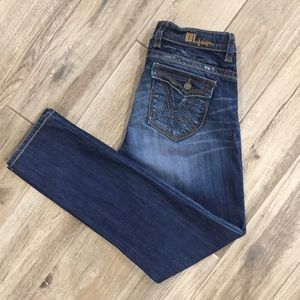 KUT FROM THE KLOTH Straight Leg Flap Pocket Jeans
